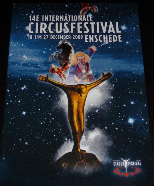 A vendre / On sale / Zu verkaufen / En venta / для продажи :  Programme 14e Internationale Circusfestival Enschede 2009
