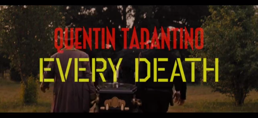 les morts des films de Quentin Tarantino en quatre minutes