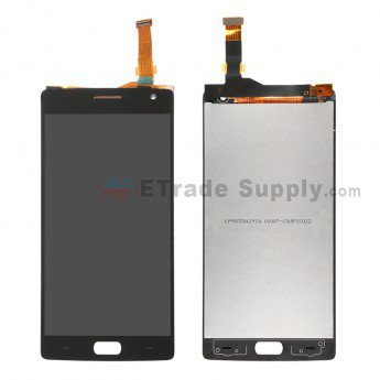 OnePlus Two LCD Screen and Digitizer Assembly Black - ETrade Supply