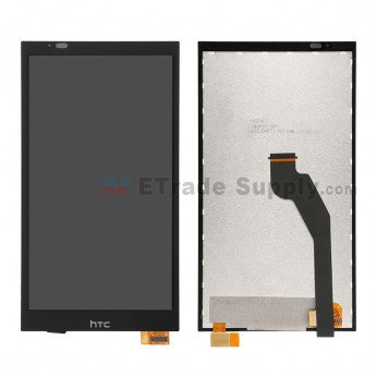 HTC Desire 816G Dual SIM LCD Screen and Digitizer Assembly Black - ETrade Supply