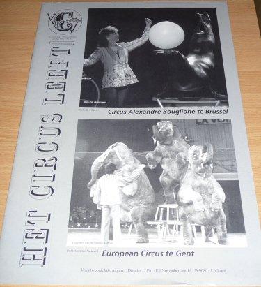 A vendre / On sale / Zu verkaufen / En venta / для продажи :  Magazine Het Circus Leeft