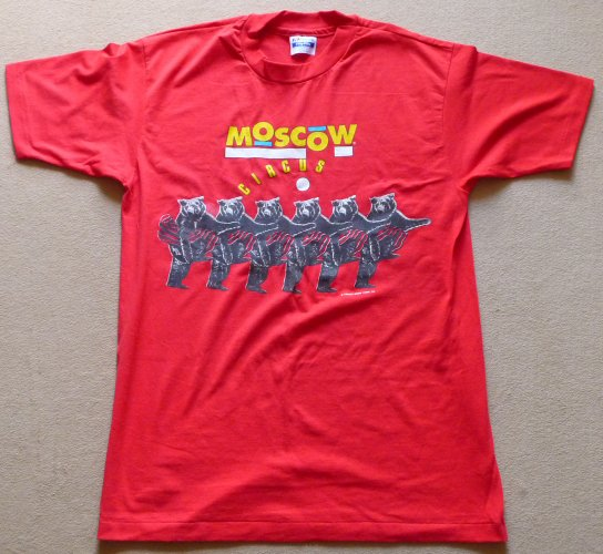 T-shirt Moscow Circus - Ours