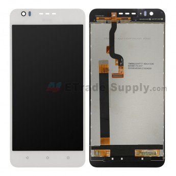 HTC Desire 825 LCD Screen and Digitizer Assembly White - ETrade Supply