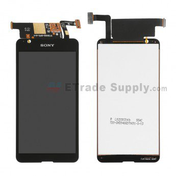 Sony Xperia E4g LCD Screen and Digitizer Assembly Black - ETrade Supply