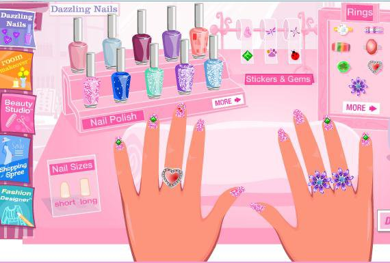 Barbie nail art games image collections nail art and nail design barbie nail polish art games nail art ideas barbie nail art game ideas prinsesfo image collections prinsesfo Images