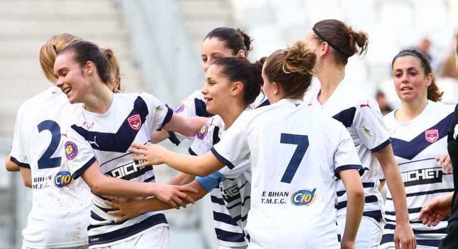 Féminines - En tête !, girondins.com - Le site officiel du FC Girondins de Bordeaux