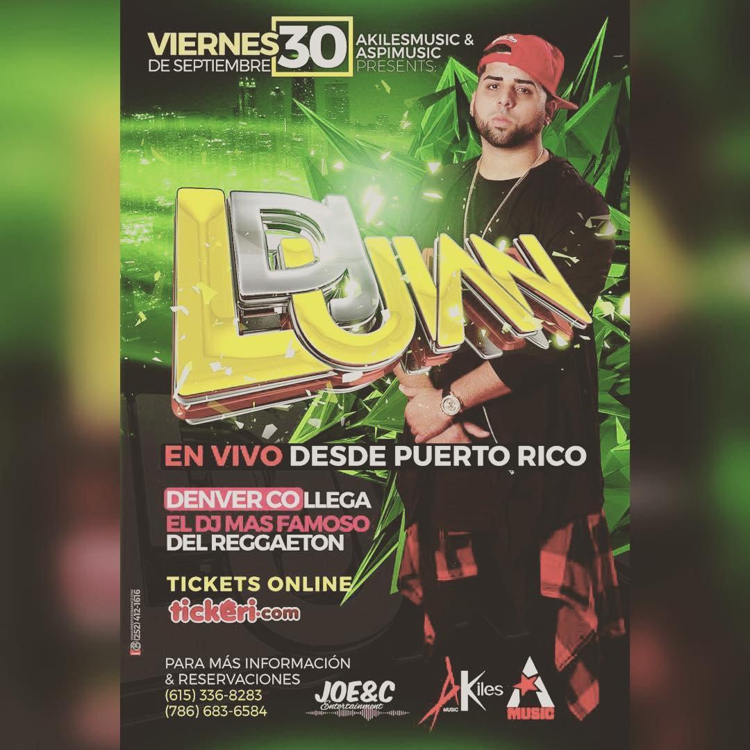 DJ LUIAN DE PORTO RICO