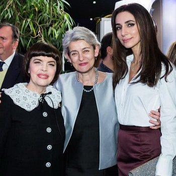 Mireille Mathieu   Bei der Unesco / Paris    6.12.2016