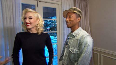 Pharrell & Gwen Stefani - Interviews