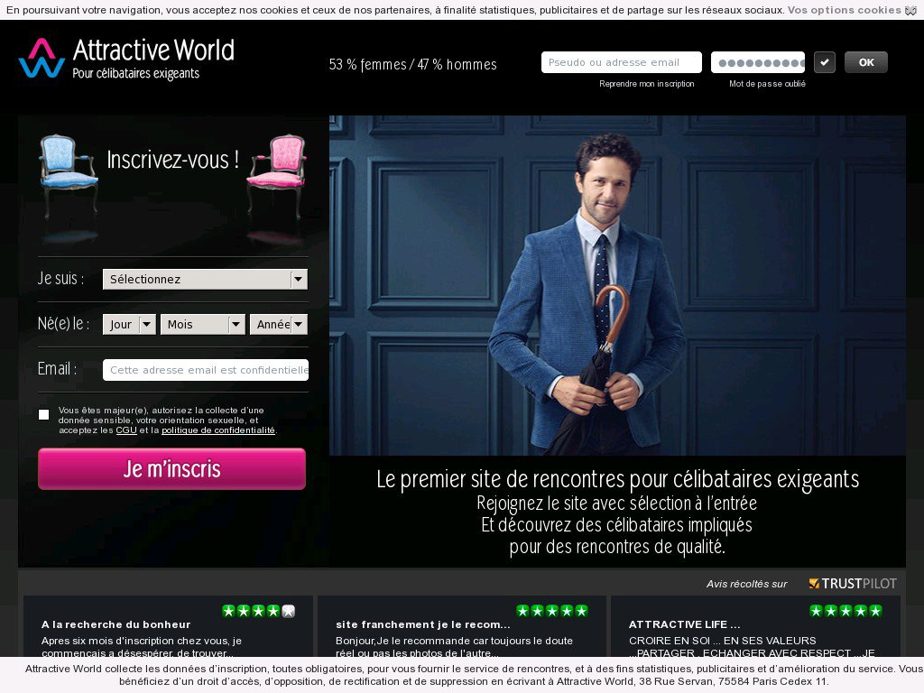 AttractiveWorld.net - Test & Avis
