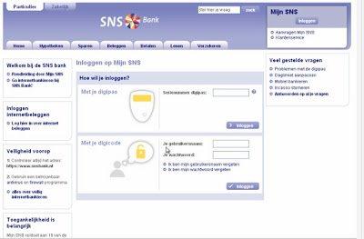 <title>Mijn SNS Bank Inloggen – Dutch Retail Internet Banking Login |Internetbankieren Inloggen
