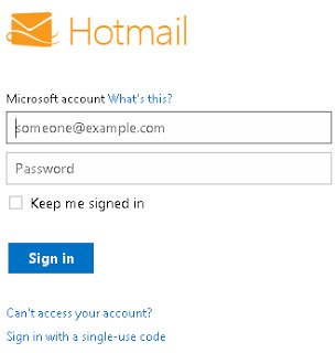 Image Gallery hotmail login in account