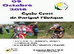 Annonce 'Cyclo Cross de Parigné L'Evêque'