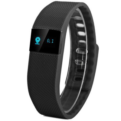 Smart Bracelet Watch Bluetooth 4.0 IP67 SMS Reminder Sleep Tracker Calorie Burning Incoming Call