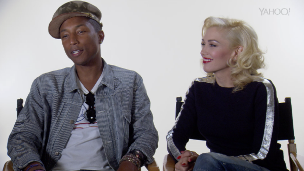 Pharrell Williams & Gwen Stefani Discuss How They 'Shine'