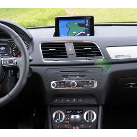 touch screen aftermarket audi a1 head unit gps navigation system with usb sd ipod canbus aux. Black Bedroom Furniture Sets. Home Design Ideas