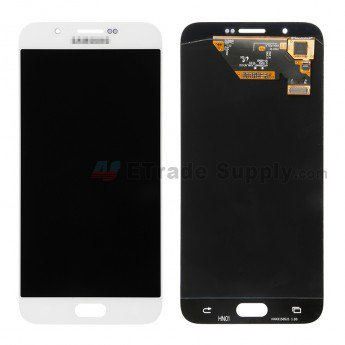 Samsung Galaxy A8 SM-A800 LCD Screen and Digitizer Assembly White - ETrade Supply