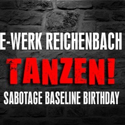 Sabotage Baseline Birthday E-Werk Reichenbach 08.10.16 Sabotage Baseline vs Tek`Ce
