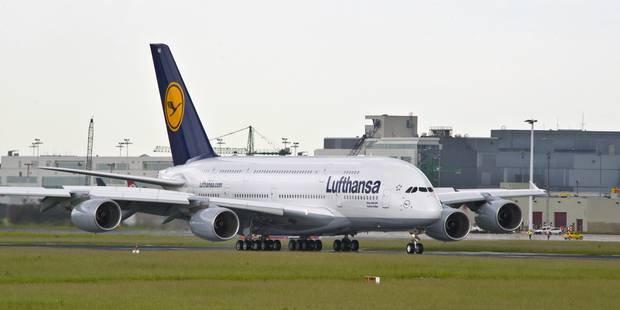 13-10-2016 - Belgique - Bruxelles - Une collision entre des avions passagers de la Lufthansa et d'Aer Lingus a �t� �vit�e de justesse � Brussels Airport