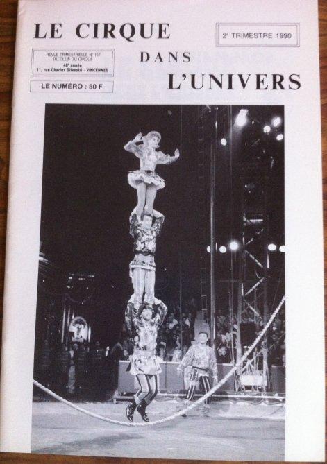 Magazine Le Cirque dans l'Univers n°157