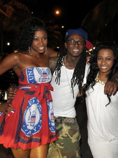 D.Woods (SNL's sister), Weezy & Shanell