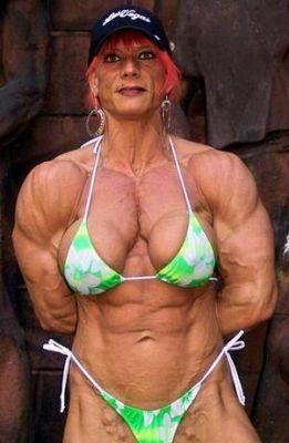 Voici la femme la plus musclé du monde
