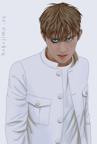 Damon Albarn: The Universal (drawing) - ablurida - Skyrock.com