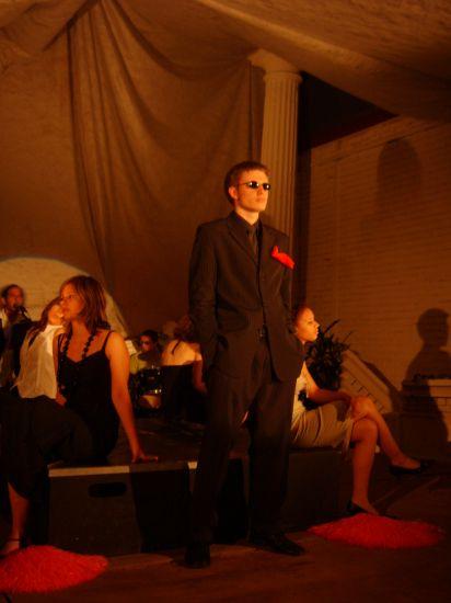 """me voici, lors du spectacle """"Amours Monstres et Tralala"""""""