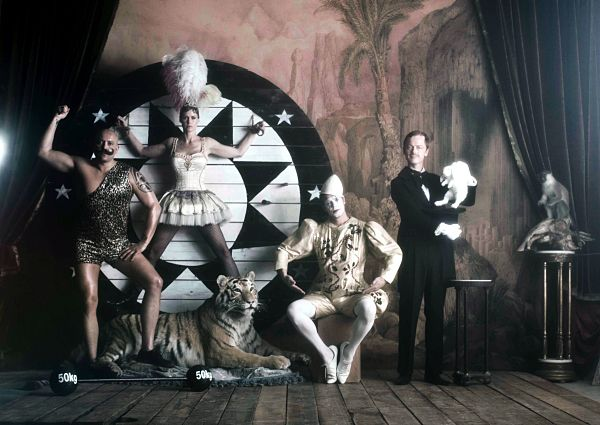 René, Lene, Soren & Claus (Goodbye To The Circus Tour)