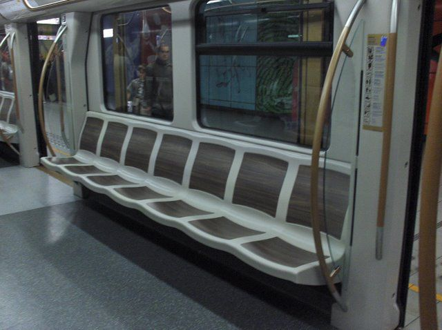 M tro boa int rieur stib stib bruxelles for Metro interieur
