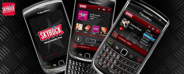 Ecoute la radio sur ton BlackBerry