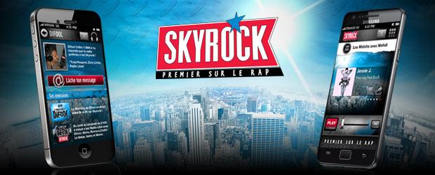 L'appli Skyrock