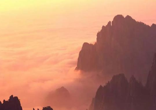 Mont Jaune Huang Shan (Chine)