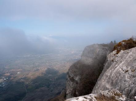 Vallée de Chamberry Savoie (Roc de Tormery)