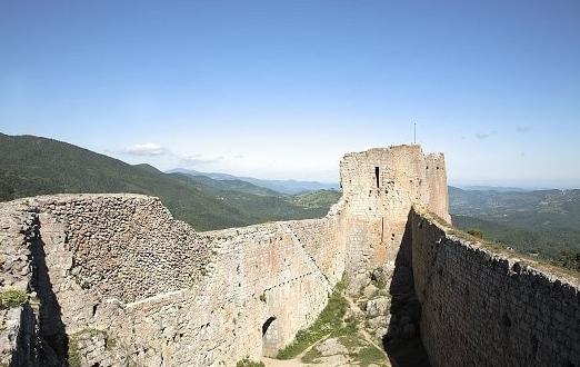 Chateau de Montségur Ariège Midi Pyréenées