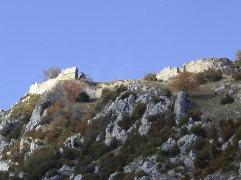 Roquepixade le chateau de l'arraignée  Pays Cathare