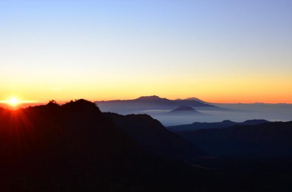 Lever du soleil Bromo Indonésie