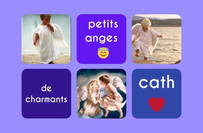 charmants petits anges!