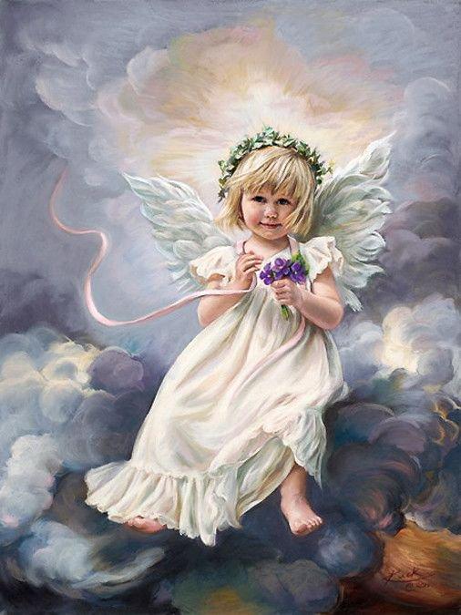 beau regard d'un petit ange adorable