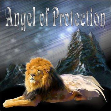 l'ange lion protecteur