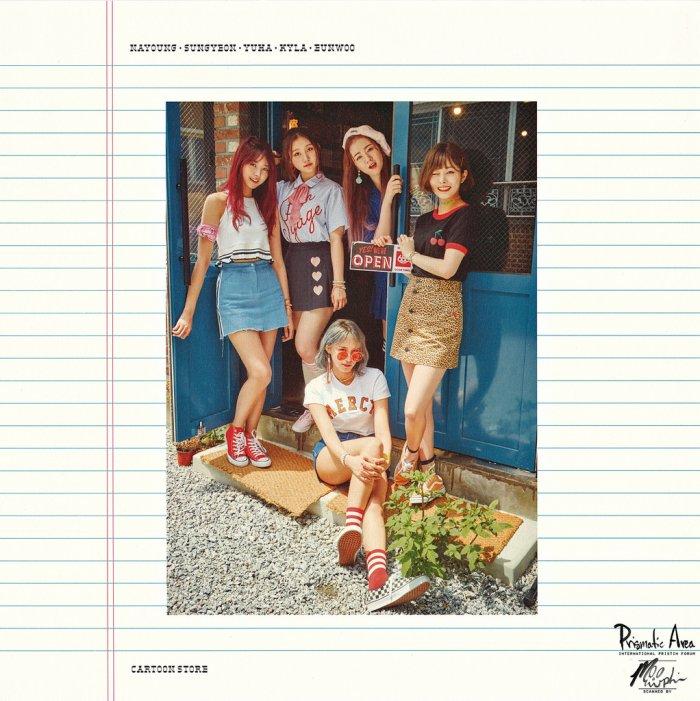 Nayoung, Sungyeon, Yuha, Kyla & Eunwoo ♡