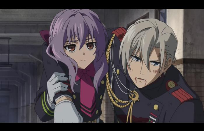 Shinoa soutient Shinya