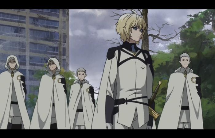 Mika avec son groupe de vampires