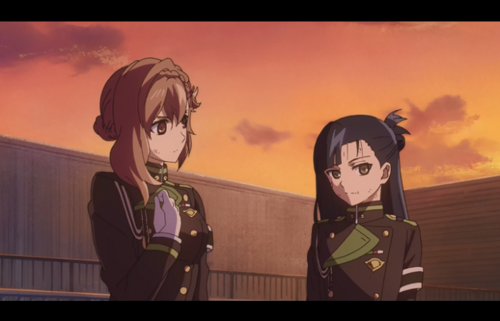 Sayuri et Shigure (de l'escouade de Guren)
