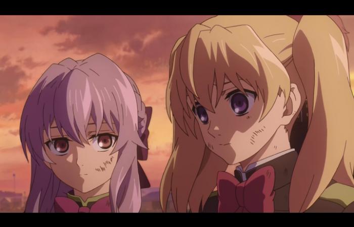 Mitsuba est triste que sa soeur ne la regarde pas