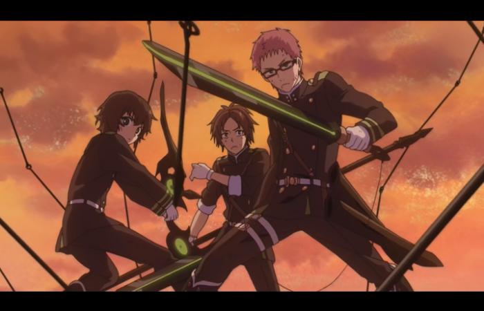 Yoichi et Kimizuki protègent Narumi