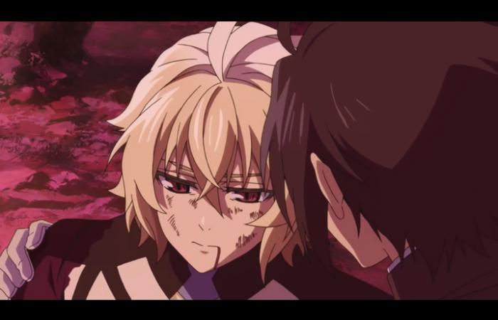 Mika a été blessé par un monstre