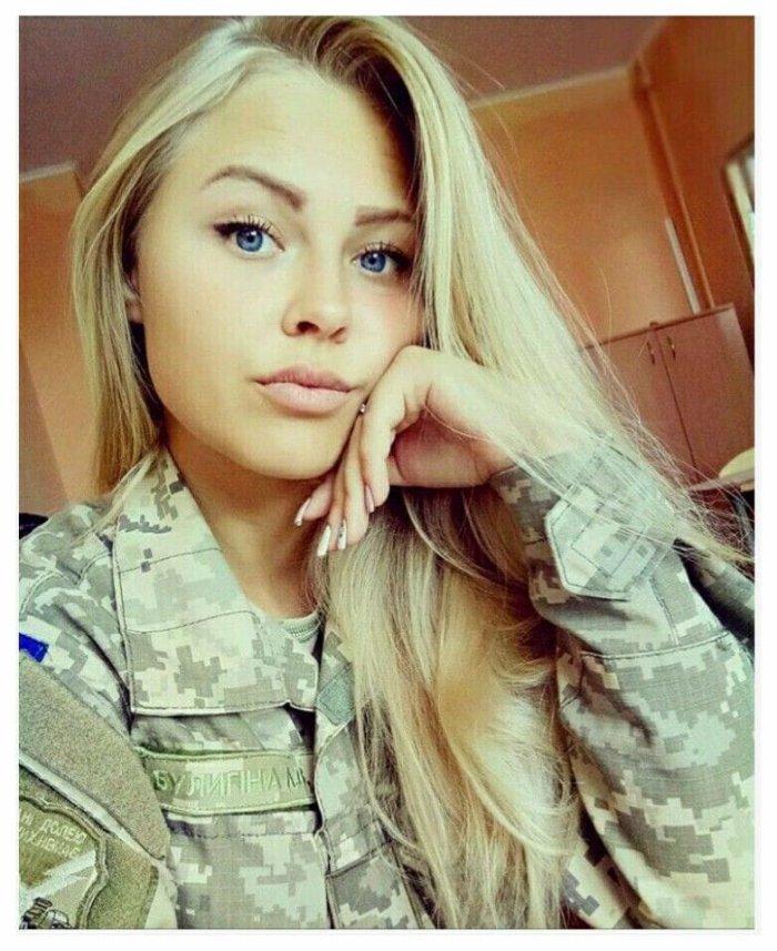 UKRAÍNÍAN ?? Female Soldier?♀?? in 2020