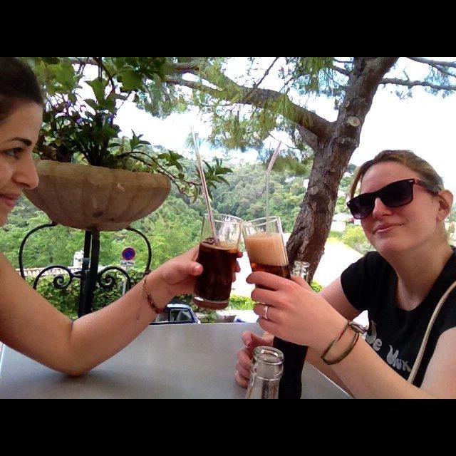 petit moment entre copine a Cagnes Sur Mer