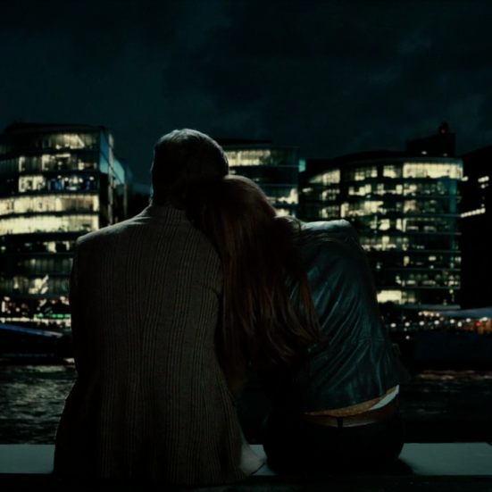 """""""I'm running to you and Rory before you fade from me."""" [Who]"""